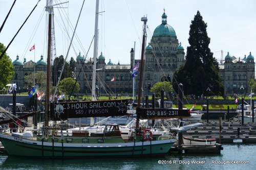 The Wharf and the B.C. Legislative Assembly