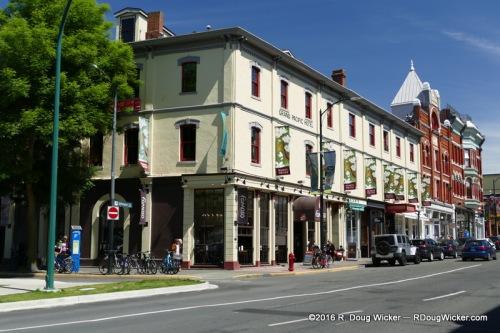 Grand Pacific Hotel, Johnson Street