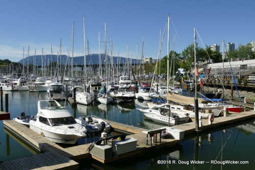 False Creek marina