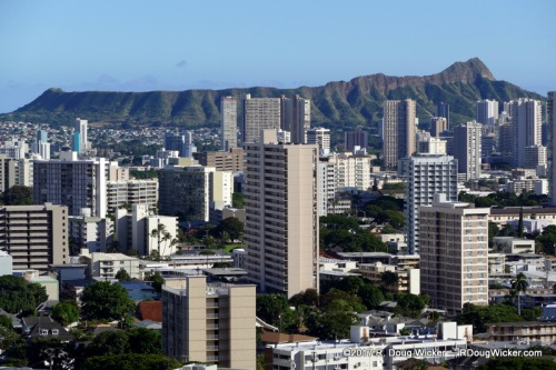 Diamond Head, Honolulu, Oahu