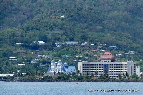 Apia from a distance