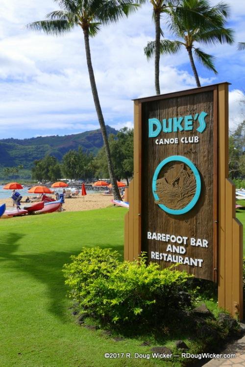 Duke's Canoe Club Barefoot Bar and Restaurant
