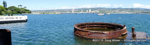 USS Arizona's final resting place