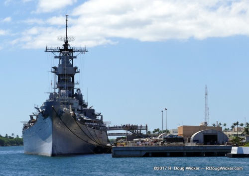"USS Missouri — the ""Mighty Mo"""
