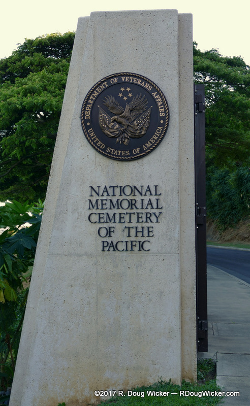 Entrance to the Memorial