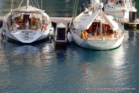 Yachts of Nanuu Bay