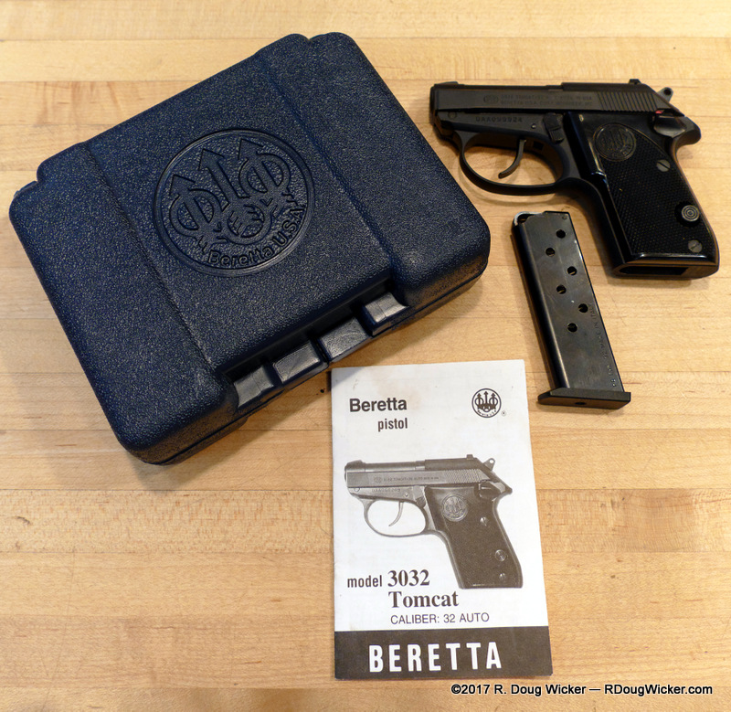 Pocket Pistol Week — Beretta Tomcat   R  Doug Wicker — Author