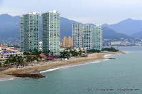 Puerto Vallarta resort area and beaches