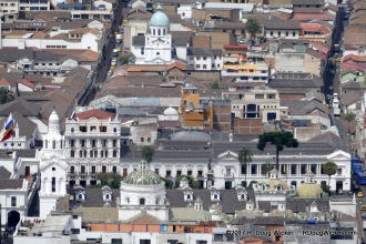 View of Quito from el Panecillo