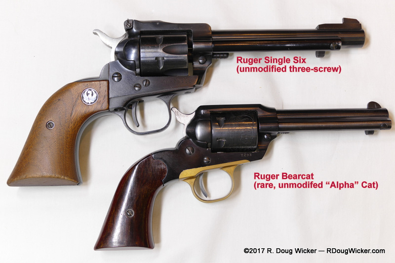 """Interesting Collectables: """"Old"""" 1st issue Ruger Bearcats 