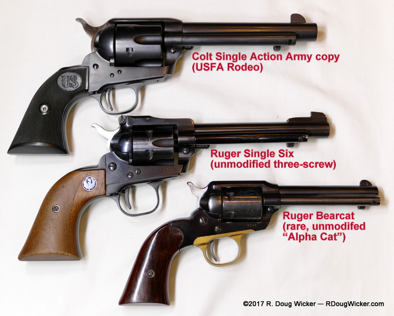 "Interesting Collectables: ""Old"" 1st issue Ruger Bearcats 