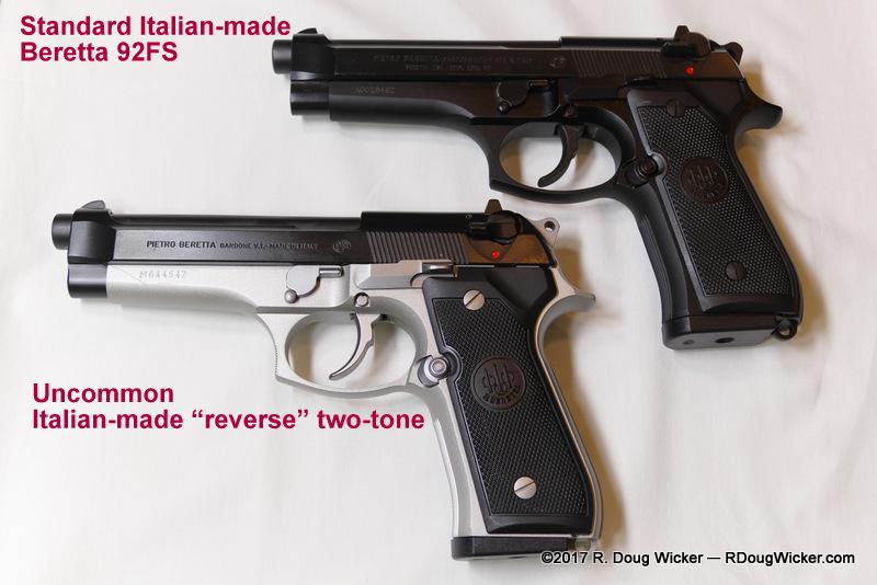Standard Beretta 92FS Top Uncommon Reverse Two Tone