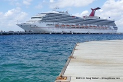 Carnival Victory in Cozumel — Good ship; Lousy cruise line
