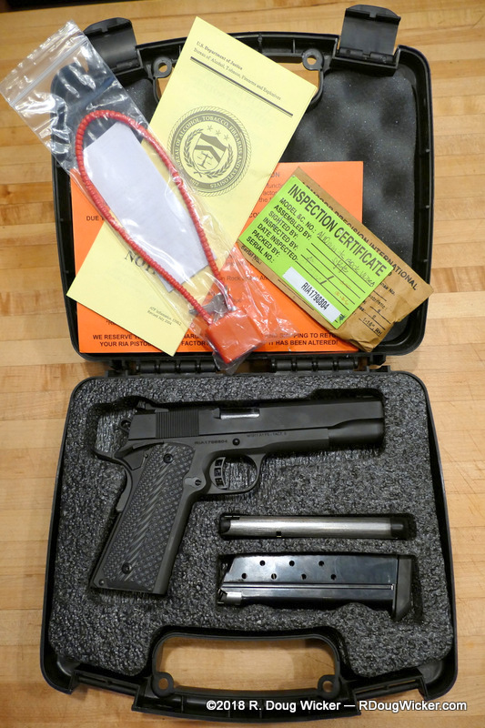 First look at a Rock Island Armory Ultra FS in 10mm | R  Doug Wicker