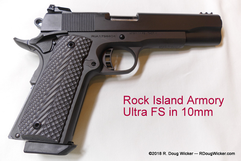 First look at a Rock Island Armory Ultra FS in 10mm | R