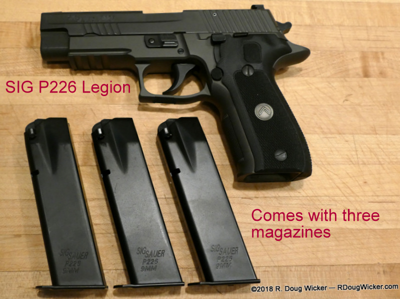 First look at the SIG P226 Legion | R  Doug Wicker — Author