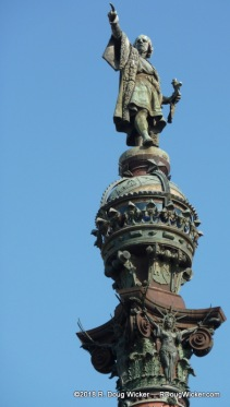 Christopher Columbus Points the Way