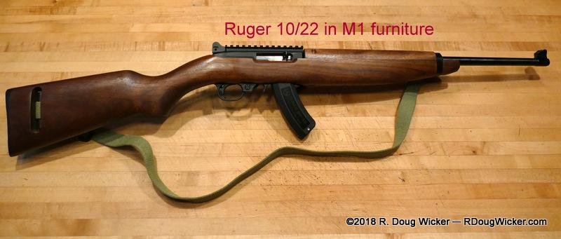 M1 Carbine | R  Doug Wicker — Author