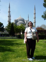 Ursula and the Blue Mosque