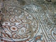 Terrace house mosaic