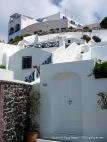 Whitewashed buildings of Santorini