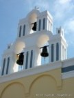 Santorini church bells