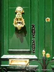 Brass on Green