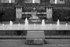 Fountain in Black & White