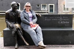 Ursula taking a break with Major Alida Bosshardt