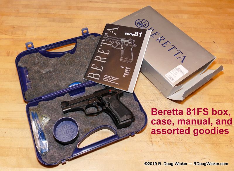 Beretta 81FS Cheetah — And tips on gun collecting | R  Doug