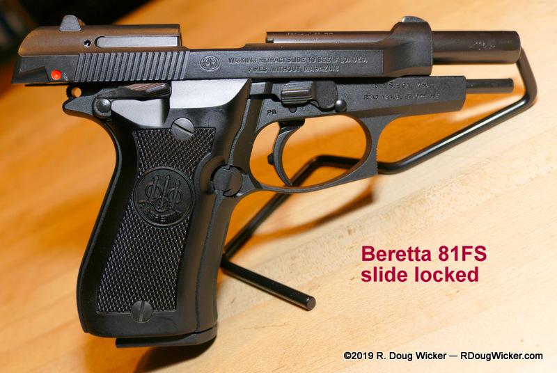 Beretta 81FS Cheetah — And tips on gun collecting | R  Doug Wicker