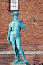 Copenhagen's copy of Michelangelo's David