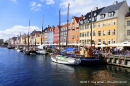 Nyhavn in Sunlight