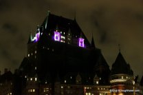 Ominous View of Château Frontenac