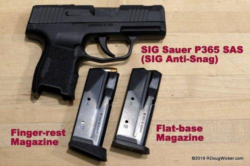 SIG SauerP365 SAS (SIG Anti-Snag)