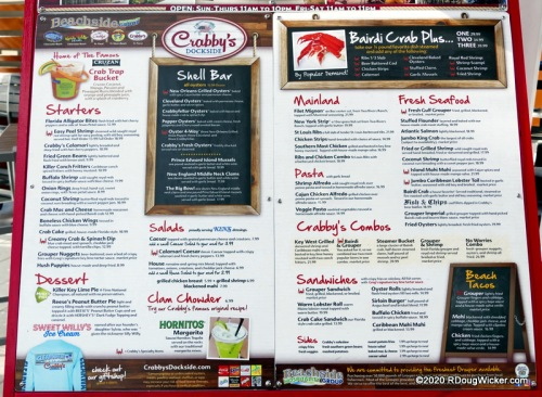 Crabby's Dockside lunch 10-21-2019 4-29-16 PM